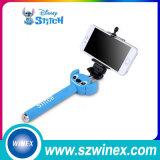 Fashionable Selfie Stick with Bluetooth Button Миниое связанное проволокой Monopod