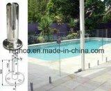 フランジカバーが付いている正方形の栓はプールの囲うことのための12-18mmガラスに合った