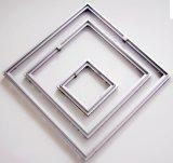 Panel de acceso oculto de aleación de aluminio de doble marco para la decoración de interior