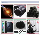 Alta calidad de plástico negro de carbono Negro Color Masterbatch para Inyección