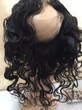 Perruque brésilienne en dentelle à cheveux / 360 perruque frontale en dentelle