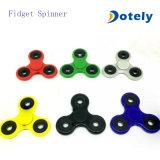 Het spinnen friemelt Stuk speelgoed Drievoudige Spinner