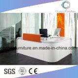 Grosser Größen-Büro-Möbel-hölzerner Schreibtisch-Empfang-Tisch