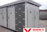 Europ-type de Gecombineerde Transformator van Pretabricated Substation/Yb10-500kVA