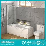 Pulire la doccia Walk-in del taglio con il perno di alluminio (SE932C)