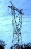 Tour en acier galvanisée de transport d'énergie