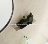 La mejor vanidad del cuarto de baño del acero inoxidable de la venta con el espejo redondo (092)