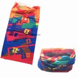 Logo promotionnel personnalisé Logo Sublimation Printing Multifunctional Seamless Scarf
