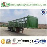 3 Axles 60 тонн коробки коль тележки трейлер Semi