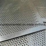 1mmのフィルターシリンダーのための穴によって電流を通される穴があいた金属の網