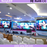 Video bekanntmachende Bildschirmanzeige LED-P3.91 für die Ereignisse Miet