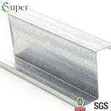 Белая горячая окунутая гальванизированная сталь профиля c