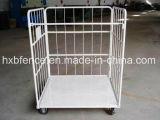Étagère pliable d'entrepôt, cage de mémoire, palette de roulis, chariot logistique
