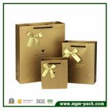 Alta bolsa de papel colorida encantadora promocional del regalo de Qualiyt