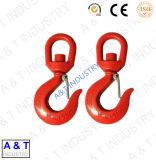Crochet de levage de l'acier au carbone / acier inoxydable / G80 avec loquet