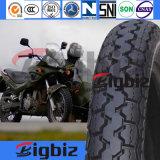 Campo a través de la venta caliente de caucho natural 2,50-17 neumático de la motocicleta
