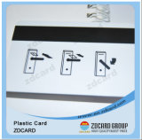 Cartões plásticos do PVC com tira magnética