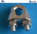 電気Galv。 可鍛性鋳造ワイヤーロープクリップDIN741