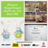 Decoración de Pascua (ZY13L948-1-2) Pascua conejito del polluelo Angel Craft Bolsa Pascua relleno de artículos de decoración