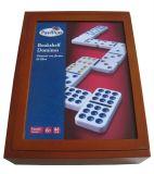 Doppio Nine Domino Set in Wooden Box