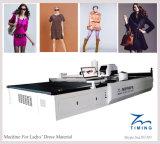 Cortadora automática del paño de la tela y de las hojas y máquina de la tela y de las hojas/maquinaria con industria de ropa
