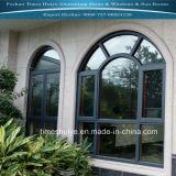 Ventana fija de aluminio con el vidrio Tempered para el sitio de Sun