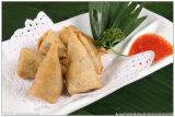 Triangle Frozen Vegetable 12.5g / Piece X 102pieces Samosas avec certification HACCP