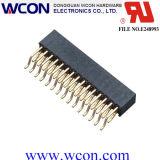 2.0 milímetros H = 6.3 encabeçamento dobro da fêmea da fileira 90 SMT do milímetro