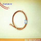 Câble de thermocouple avec l'isolation élevée en verre de fibre de silice température élevée de 800 degrés (KPX, KNX)