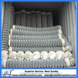 Cerco revestido e galvanizado do PVC da ligação Chain da tela da segurança