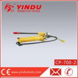 Bomba hidráulica manual com calibre de pressão (CP-700-2)