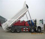 ساينو تراك 8X4 12 عجلات شاحنة 20m3 HOWO الثقيلة قلابة شاحنة