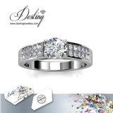Het Kristal van de Juwelen van het lot van Weelderige Ring Swarovski
