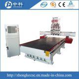 Pneumatischer ändernder 4 Scherblöcke hölzerner CNC-Fräser