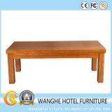 任意選択純木の家具の長方形のコーヒーテーブル