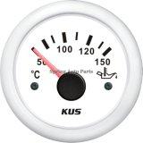 Meilleur compteur de mesure de la température de l'huile de 52 mm avec capteur de température avec rétro-éclairage