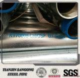 250mm Durchmesser galvanisiertes Rohr 10 Zoll