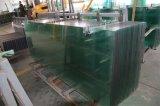 vidrio de /Toughened del vidrio Tempered de 3-12m m con los recortes de los orificios de Drlling o del jet de agua