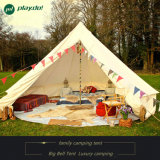 Outdoor 4m 5m 6m Luxury Canvas Bell Tent para Camping