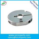 回る精密金属はCNCのアルミニウム機械化の部品、カスタムCNCの旋盤の部品を分ける