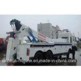 Camino-Block Wrecker Truck de Sinotruck HOWO 8*4crane