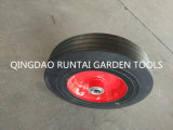 "Venta caliente Qingdao Produce durable barato de ruedas de goma maciza (10 ""X2.5"")"