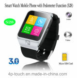 Téléphone mobile intelligent de montre avec la fonction de Pedometer (S28)