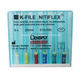 유연한 근관 Endodontic Dentsply 치과 H 파일 Niti