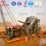 Draga di aspirazione del getto di serie di Keda, attrezzatura mineraria della sabbia