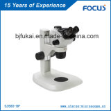 para ganhar o elogio morno do equipamento de laboratório dos clientes para o microscópio estereofónico