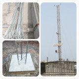 Le fournisseur de la Chine a galvanisé la tour contactée par anémométrie tubulaire de radio en micro-ondes de câble de haubanage