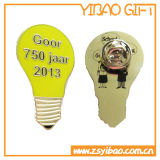 Pin de encargo de Lamp Bulb Lapel con Enamel Yellow (YB-LP-50)