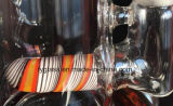 Tubulação de água de vidro da cor por atacado de duas funções com 18.8mm