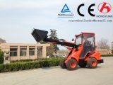 望遠鏡ブームの動物挿入のための小型車輪のローダーZl08f北京のユーロIIIエンジン